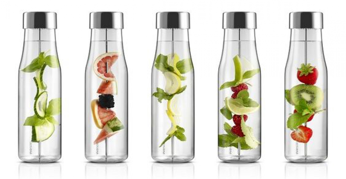 Recept: fruit water