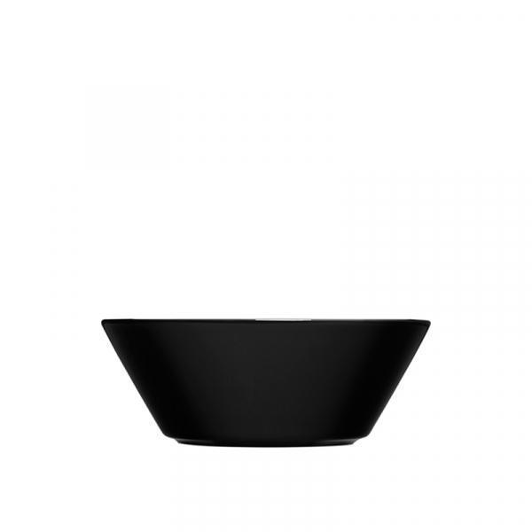 Schaaltje 15 cm zwart