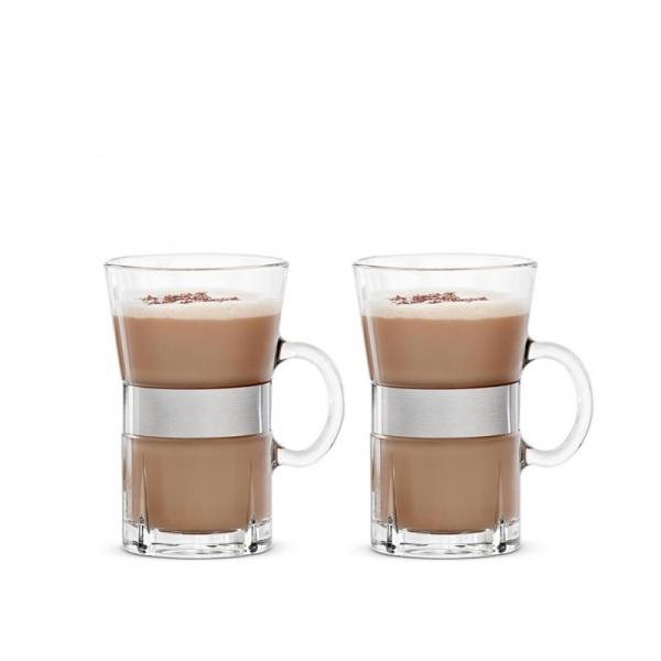Thee-/koffieglazen, per 2
