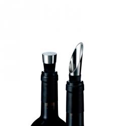 Wijnset (schenktuit en flessenstop)