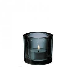 Waxinelichthouder 6 cm Grey