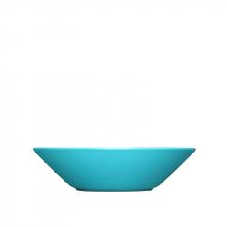 Diep bord 21 cm turquoise