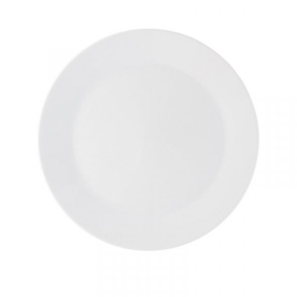 Onderbord porselein 32 cm wit