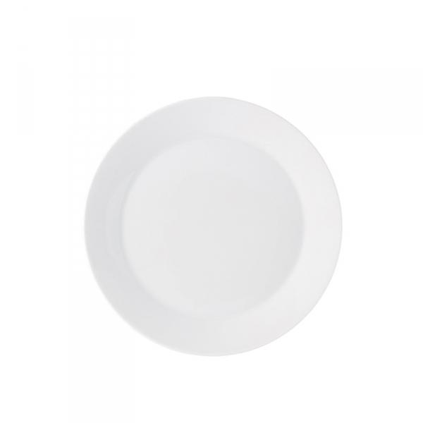 Ontbijtbord 22 cm Wit