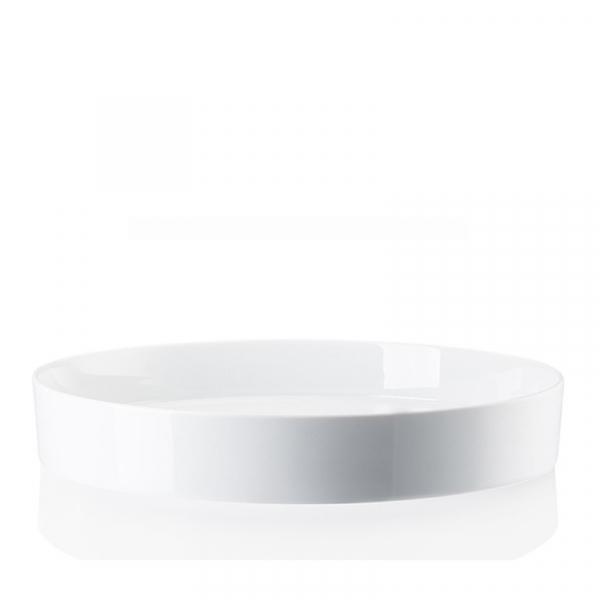 Schaal konisch 28 cm wit