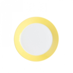Ontbijtbord 22 cm Geel