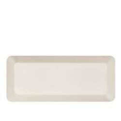 Schaal 16 x 37 cm wit