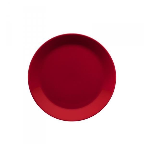 Ontbijtbord 21 cm rood