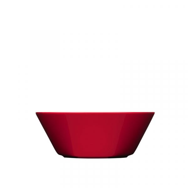 Schaaltje 15 cm rood