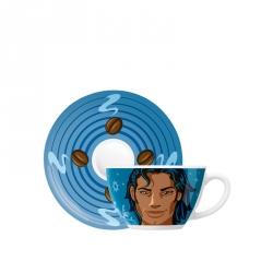 Cappuccinokop & -schotel 046