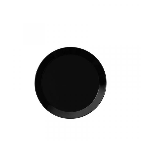 Gebaksbord 17 cm zwart