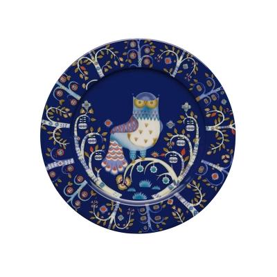 Iittala Taika, Plat bord 30cm blauw
