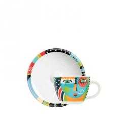 Espressokop & -schotel 059