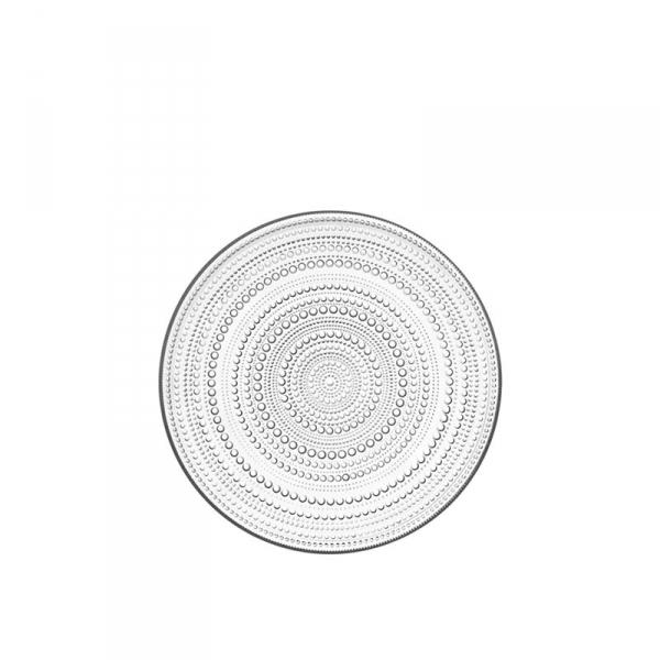 Gebaksbord 17 cm Clear