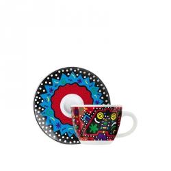 Espressokop & -schotel 070