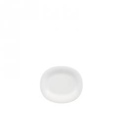 Ontbijtbord ovaal 23x19 cm