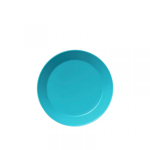 Gebaksbord 17 cm turquoise