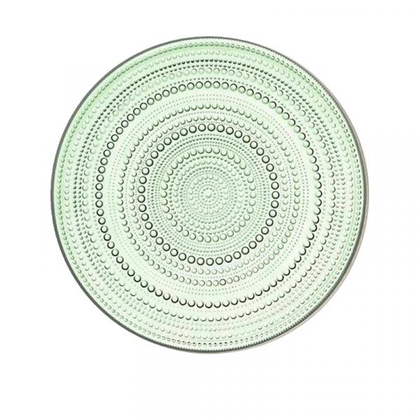 Plat bord appelgroen 31,5 cm