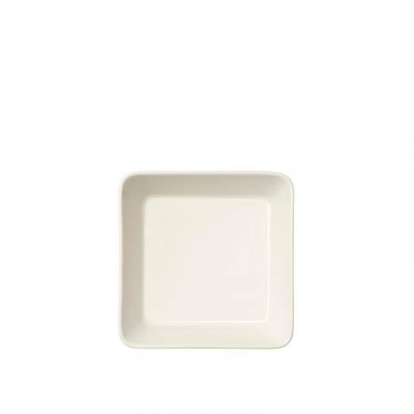 Schaal 12 x 12 cm wit