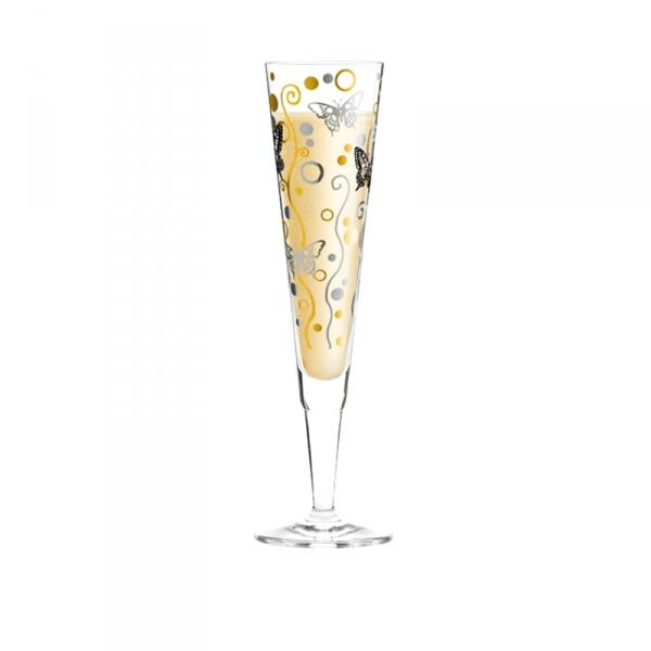 Champagneglas 184 vlinder 0,20 l