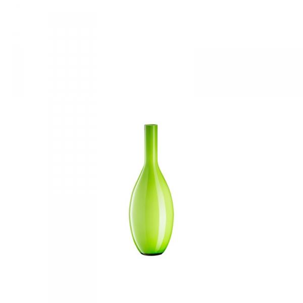 Vaas glas groen 18 cm