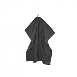 Handdoek zwart 60 x 60 cm
