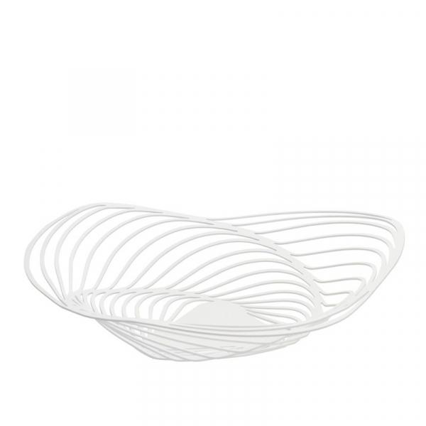 Schaal/Centrepiece 43 cm wit
