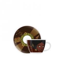 Espressokop & -schotel 106