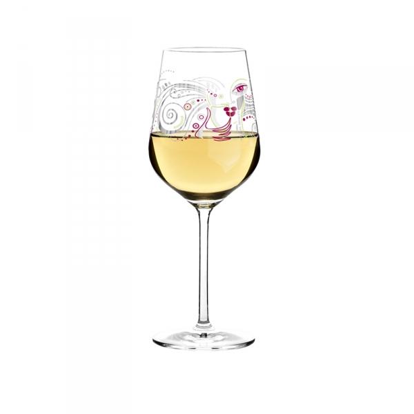 Witte wijnglas 005
