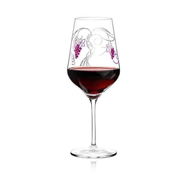 Rode wijnglas 006