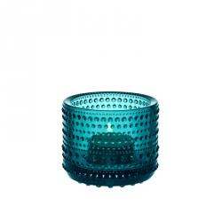 Waxinelichthouder Zeeblauw