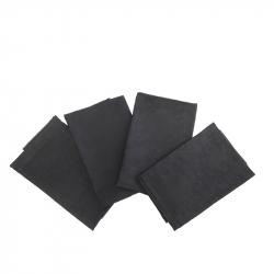 Servetten zwart, per 4