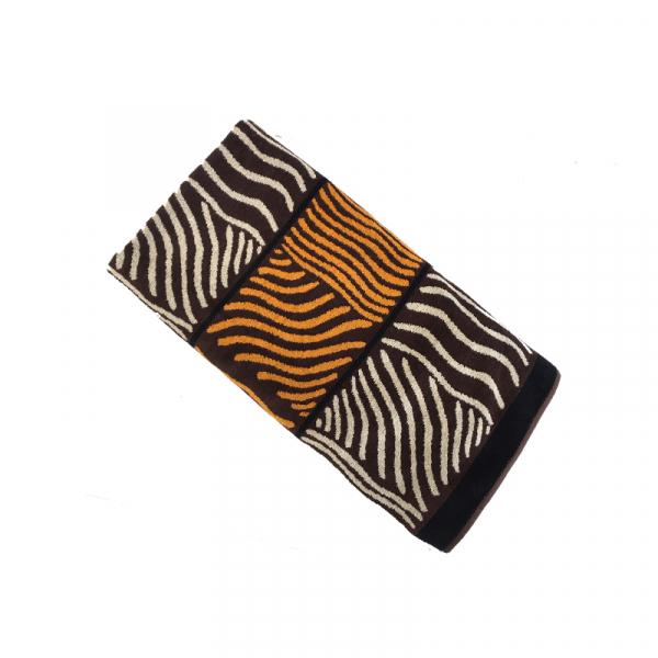 Strandlaken Zebra bruin 100 x 190 cm