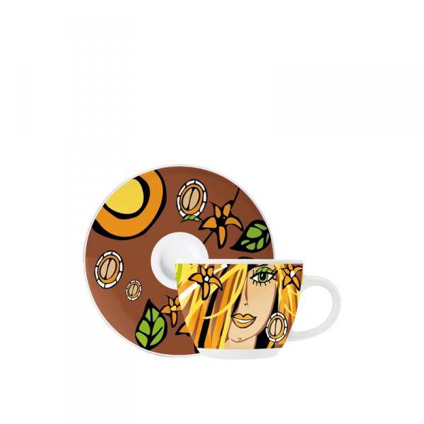 Espressokop & -schotel 109