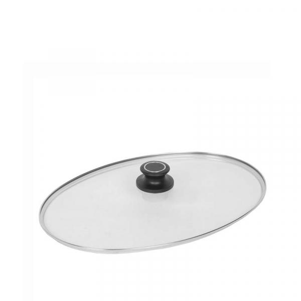 Rechthoekig glasdeksel 41 x 27 cm