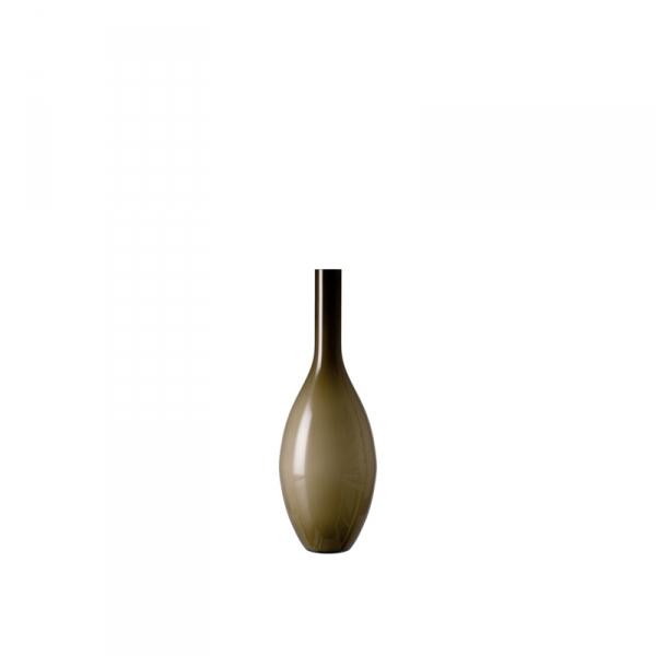 Vaas glas beige 18 cm