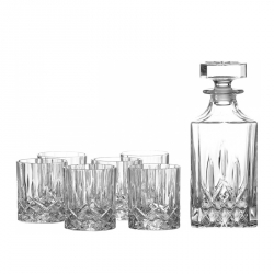 Decanteerset whisky 7-delig