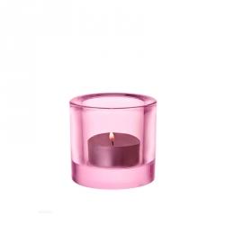 Waxinelichthouder 6 cm Lichtroze
