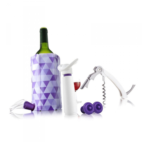 Giftset wijn 5-delig