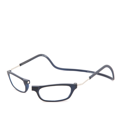Clic Frosted Clic Vision Frosted Blauw XL 35° Leesbril 1.0