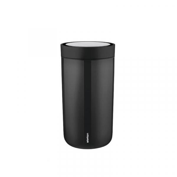 Thermosbeker 0,34 l zwart