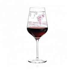 Rode wijnglas 019