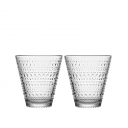 Waterglas 0,30 l Clear, per 2