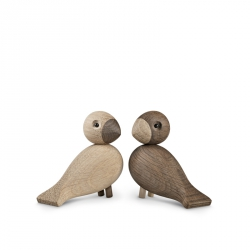 Lovebirds Light and Dark 8,8 cm