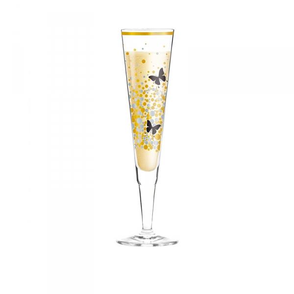 Champagneglas 209 vlinder