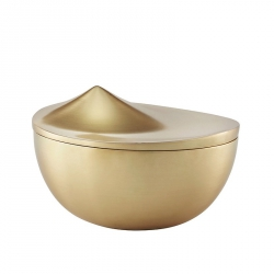 Bonbonnière 13 cm Goud
