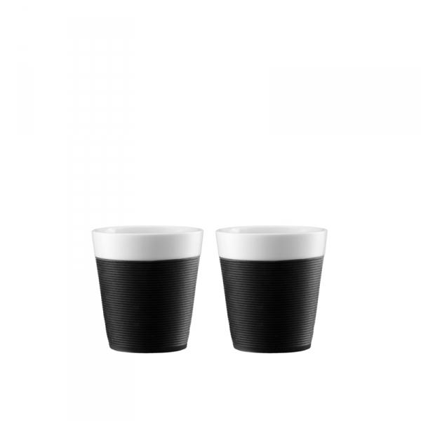 Mokken zwart 0,17l , per 2