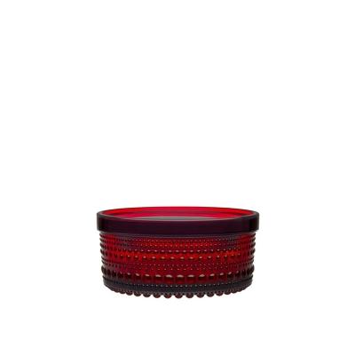 Iittala Kastehelmi Voorraadpot 5,7 cm Cranberry