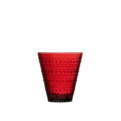 Glas 30 cl, per 2 Cranberry