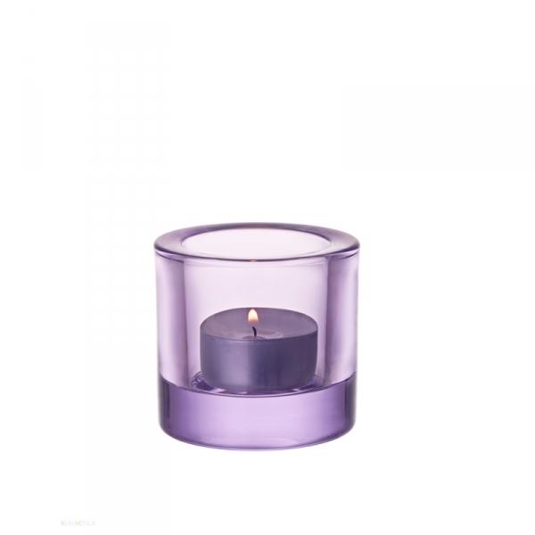 Waxinelichthouder 6 cm Lavendel